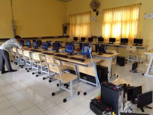 Persiapan Menjelang Simulasi Ujian Nasional Berbasis Komputer (UNBK) Tahun Pelajaran 2018/2019